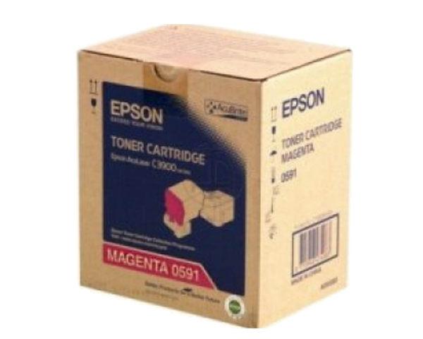 S050591 EPSON 原廠洋紅色碳粉匣 適用 AL-C3900/CX37NDF