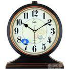 康巴絲座鐘 客廳大號掛鐘歐式復古台鐘現代創意擺件靜音時鐘錶igo『潮流世家』