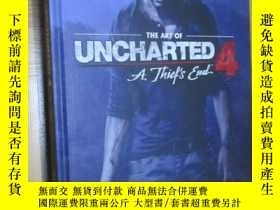 全新書博民逛書店TheArt Of Uncharted 4: A Thief s End (大16開,精裝)Y5460 Nau