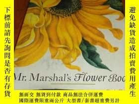 二手書博民逛書店2手英文罕見Mr. Marshal s Flower Book