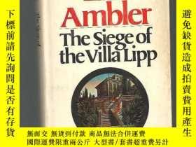 二手書博民逛書店the罕見siege of the villa lipp 精裝Y