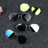 夏季防紫外線兒童墨鏡男童太陽鏡正韓潮女童眼鏡【萬聖節8折】