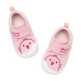 學步鞋 學步鞋女兒童鞋子0-1-2-3歲兒童鞋春秋男軟底防滑防掉布鞋兒童鞋 麻吉部落