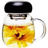 【春季上新】簡趣創意原宿水杯玻璃杯便攜泡花茶杯隨手杯子女學生正韓水杯