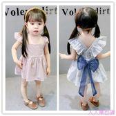 寶寶公主裙純棉嬰兒連身裙夏裝兒童背心裙0-1-2-3歲女童裙子夏款4