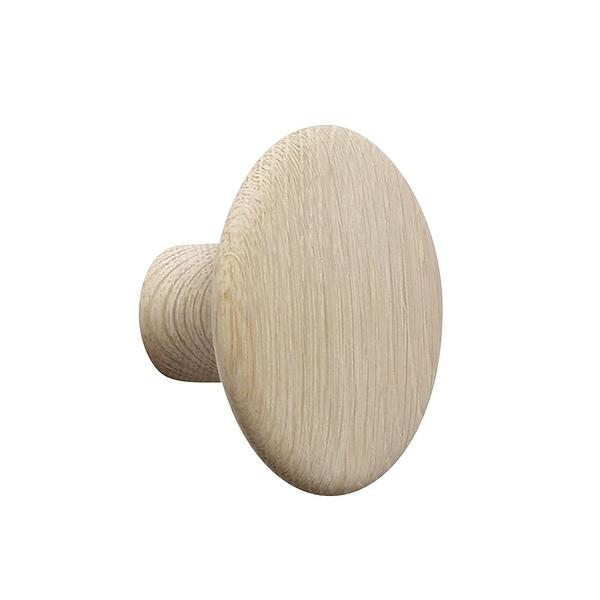 丹麥 Muuto The Dots Wood Coat Hooks 9cm 點點造型 木質 衣帽勾 - 小尺寸 9cm