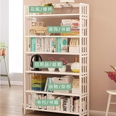 簡易書架儲物櫃書櫃帶門帶鎖小櫃子自由組合兒童簡約櫃陽臺收納櫃YYJ