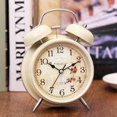 邁爾靜音鬧鐘創意學生床頭夜光小鬧鐘懶人電子臥室兒童台鐘時鐘