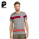 PROTEST 男 短袖T恤 (混深灰) SKOL T-SHIRT