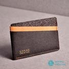 俬品創意 - 設計款紙革信用卡夾 - 時尚黑