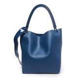 Petite Jolie  簡約時尚果凍肩背/手提托特包-蔚藍