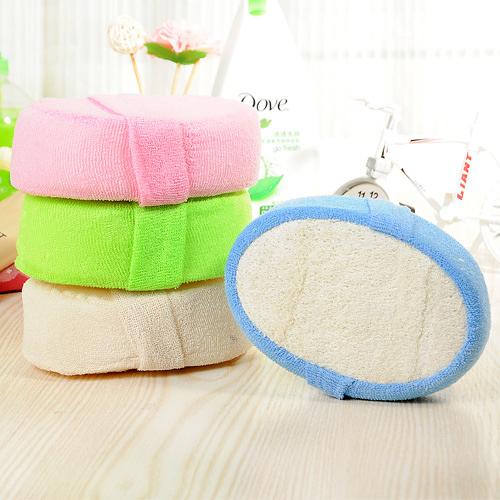 【超取399免運】天然絲瓜沐浴海綿 洗澡擦 沐浴球 去角質手套搓澡巾