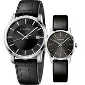 Calvin Klein CK Infinite 經典情侶手錶 對錶-42mm+31mm K5S311C1+K2G23107