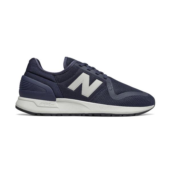 NEW BALANCE 深藍海軍藍復古慢跑鞋男女鞋 MS247SH3【FEEL 9S】