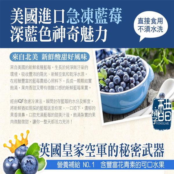 進口急凍莓果-栽種藍莓1公斤/包
