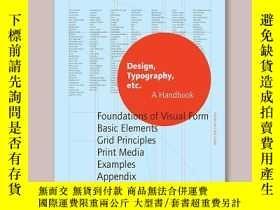 二手書博民逛書店Design,罕見Typography etc: A HandbookY343753 Damien Gauti