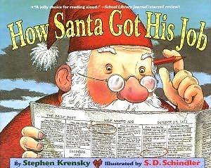 【麥克書店】HOW SANTA GOT HIS JOB /英文繪本《聖誕節》