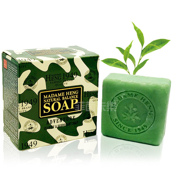 泰國 興太太 Madame Heng 阿婆 手工皂 香皂 迷彩 茶樹