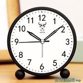 鬧鐘 簡約小鬧鐘學生專用靜音床頭兒童男女孩電子時鐘起床神器2021新款 快速出貨