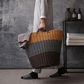 塑料髒衣籃髒衣服收納筐裝衣物婁籃子放的贓藍框簡約家用洗衣簍桶RM 免運快速出貨