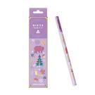 【雄獅】NO.1175-HB紫耀冬日三角塗頭鉛筆12支/盒 ~新上市