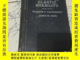 二手書博民逛書店theory罕見of elastic stability ;英文