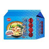 美味小舖海鮮湯麵袋68g*5包【愛買】