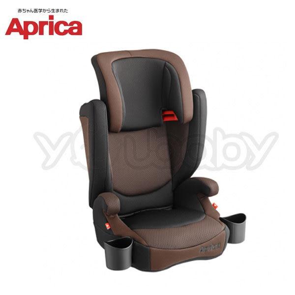 愛普力卡 Aprica AirRide 成長型輔助汽車安全座椅-棕橫海