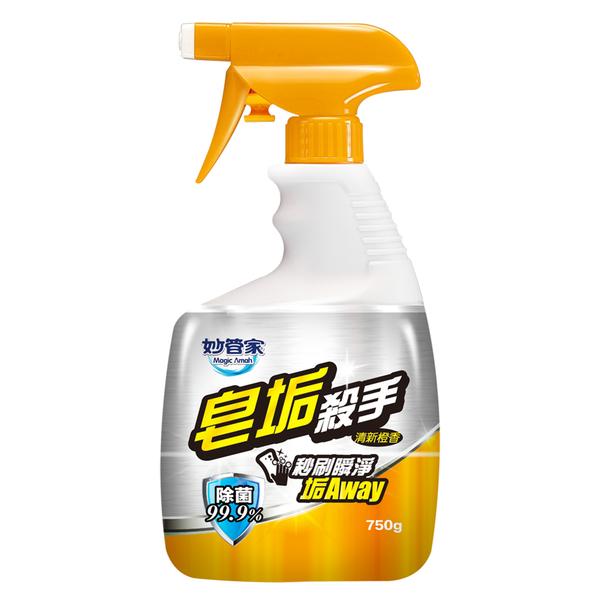 [新品上市]【奇奇文具】 妙管家 BOT075 噴槍型 皂垢殺手 750g 浴廁好幫手