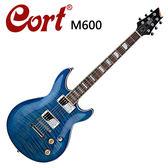 ★CORT★M600-BB 嚴選電吉他-虎紋藍色