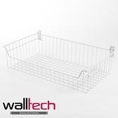 法國品牌 walltech 深型籃 大尺寸(XXL) W70CM 白色烤漆款