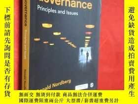二手書博民逛書店Corporate罕見Governance: Principle
