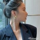 歐美風耳飾ins簡約風嘻哈個性小眾耳環耳圈港風過年耳釘潮高級感 黛尼時尚精品