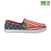 SANUK  美國國旗休閒鞋-男款SMF10989 AFLG(紅色)