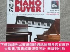 二手書博民逛書店Acoustic罕見& Digital Piano Buyer Fall 2012: Supplement to