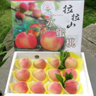 (6/20後出貨) 桃園復興鄉 拉拉山水蜜桃禮盒/6粒裝◆入口即化新鮮多汁