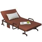 折疊床 辦公室鋼絲午休折疊床午睡單人床醫院陪護床行軍簡易床躺椅1.2米 小宅君