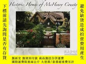 二手書博民逛書店Historic罕見Homes of McHenry Count