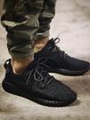 椰子鞋夏季男鞋黑范思椰子350帆布鞋休閒網面運動鞋透氣網鞋跑步鞋輕便 貝芙莉