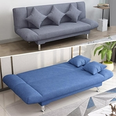 沙發 可折疊沙發床兩用客廳多功能雙人坐臥床鐵小戶型網紅款單人經濟型【快速出貨八折下殺】