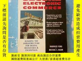 二手書博民逛書店SECURE罕見ELECTRONIC COMMERCE(安全的電