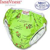 [衣林時尚] 瑞典 Imse Vimse 游泳尿布 兒童泳褲 綠色小魚