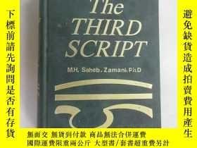 二手書博民逛書店外文書;罕見THE THIRD SCRIPT M ·H · SA