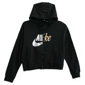 Nike AS W NSW RALLY HOODIE FZ METAL  連帽外套 AJ0091010 女 健身 透氣 運動 休閒 新款 流行