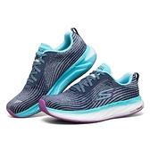 SKECHERS系列-GORUN FORZA 4 女款灰藍色運動慢跑鞋-NO.128095NVMT
