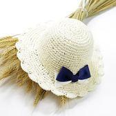 全館83折兒童帽女沙灘出游帽遮陽嬰兒帽女寶寶帽子女童帽兒童草帽太陽帽子