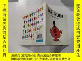 二手書博民逛書店mr.rude罕見:魯莽先生45Y212829