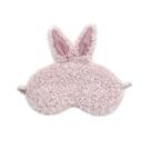 甜美可愛柔軟純色舒適卷毛絨立體兔耳朵小兔...