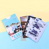 現貨👍BTS 愛豆卡 照片硬卡 明星卡片組(共3張) 附彩色收納紙套E657-H【玩之內】 防彈少年團
