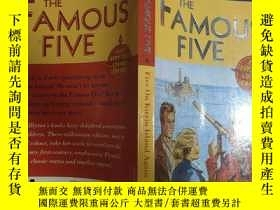 二手書博民逛書店The罕見Famous Five 6:Five on Kirrin Island Again :麒麟島上著名的五六